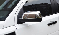 Hot Chrome Side Rearview Mirror Cover Trim For LAND ROVER Freelander 2 2008 2015