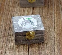 Hayao Miyazaki Totoro wooden music box