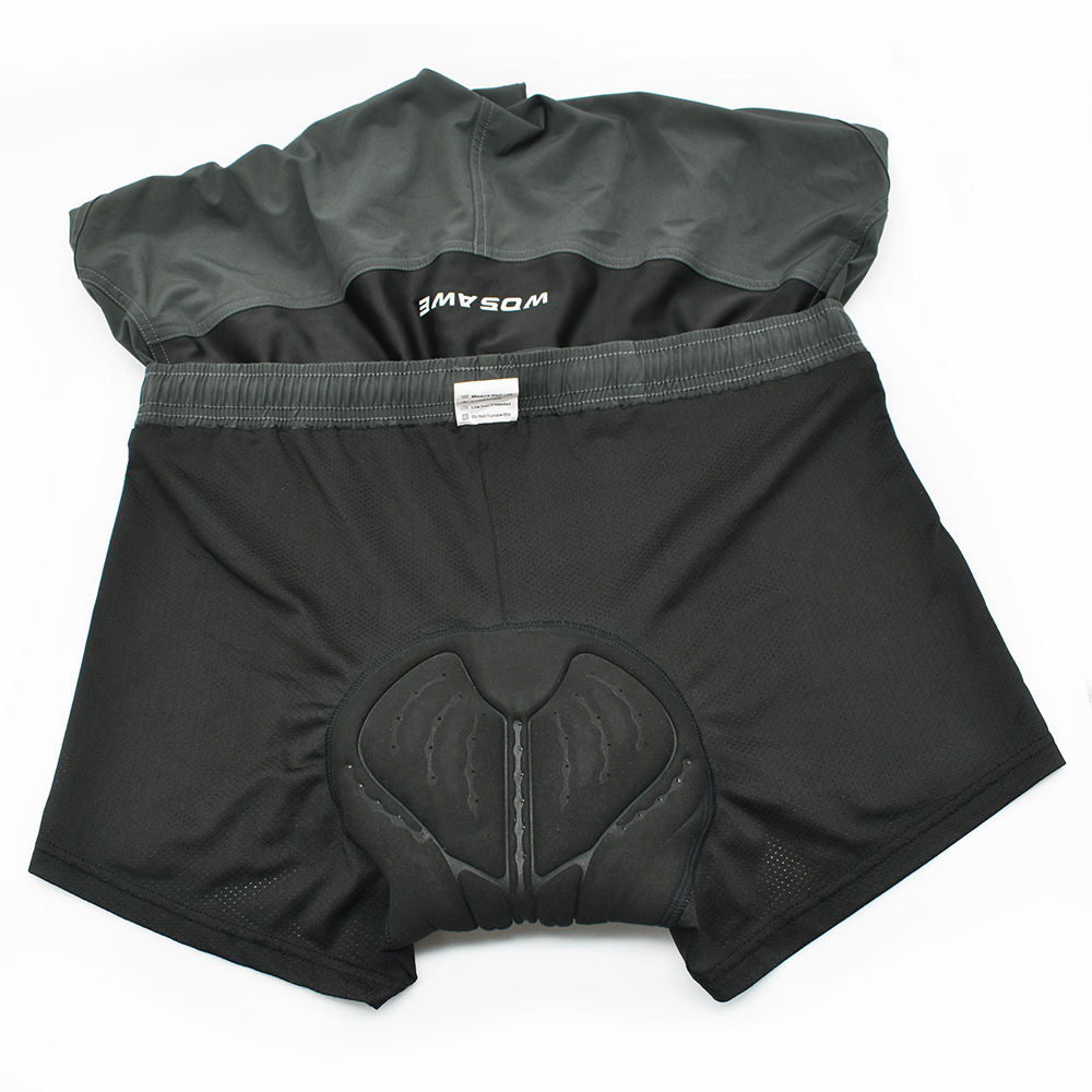 Baggy Cycling Shorts Men with Unremovable Gel Pad  Casual Bicycle  Loose Shorts