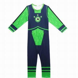 Image 2 - Wild Kratts Costume Boy Jumpsuits&Mask 2PCS/Set Kids Halloween Fancy Dress Wild Kratts Cosplay Costumes Streetwear