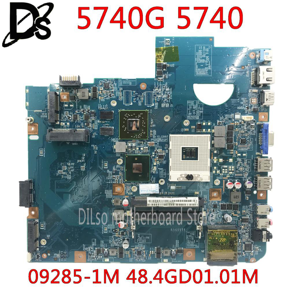 KEFU 5740G motherbaord for Acer aspire 5740 5740G motherboard 48.4GD01.01M 09285-1M HM55 DDR3 100% tested original mianboard