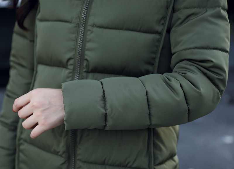 19 winter women hooded coat fur collar thicken warm long jacket female plus size 3XL outerwear parka ladies chaqueta feminino 20