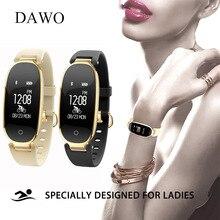 DAWO Smart Bracelet Coeur Taux Sommeil Tracker Fitness Tracker Intelligente de Remise En Forme Bracelet Smart Bracelet Femmes Pour Android IOS PK S2