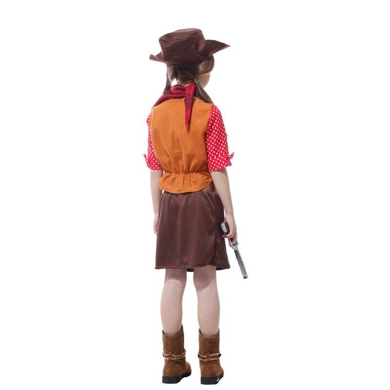 Phantasie mädchen hunter kostüm film cowboy cosplay maskerade kinder ...