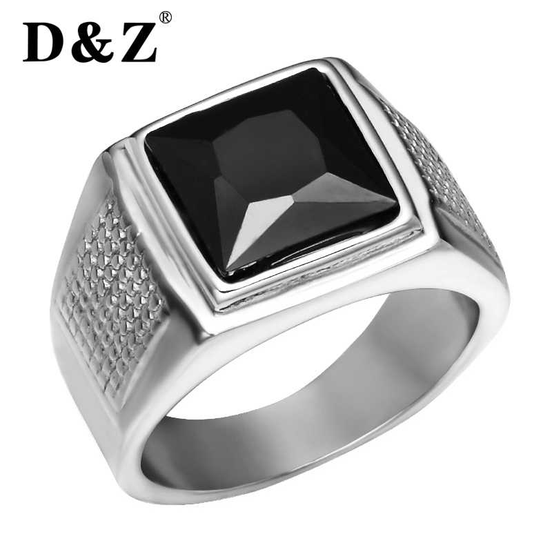Detail Feedback Questions About D Z Punk Square Cubic Zirconia Rings