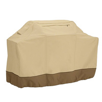 Behokic BBQ Grill Cover 420D Oxford Cloth Anti Waterbeads Heat Resistance Barbecue Protective Homelife Accessory With