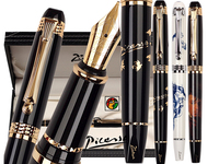 Fountain Pen M Nib 22kgp Or RollerBall Pen Picasso 926 School And Office Stationery Free Shipping