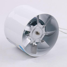 4 inch Inline Duct Booster Fan High CFM, HVAC Exhaust Intake Fan, Low Noise