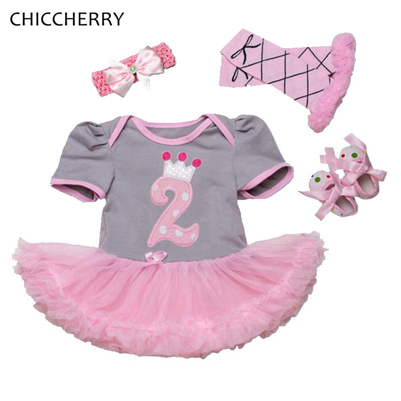 Happy 1  2 Years Baby Birthday Dress Classic Infant Girl -4380