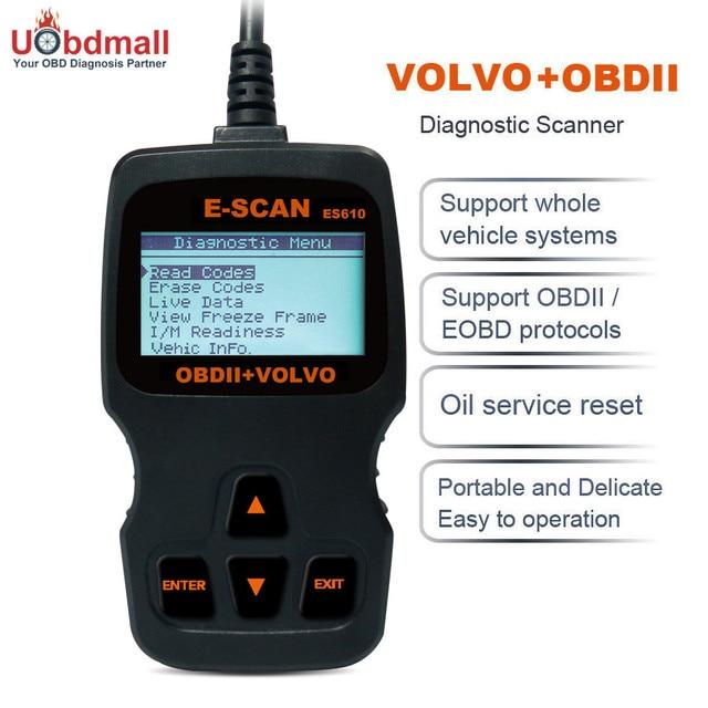 Original Autophix ES610 OBD2 Code Reader and Automotive Diagnostic Scanner Tool for XC60 XC70 XC90 S60 V40 V50 V70 S40 S80