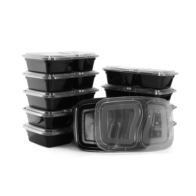 Hot 10pcs Set Disposable Microwave Food Storage Safe Meal Prep Containers Kids Container Tableware Bento Dinner In Dinnerware Sets From Home Garden