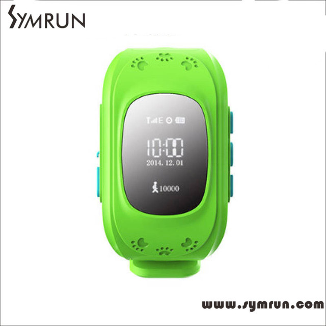Symrun Smart Baby Watch Q50 Children GPS Tracker Watch Wristwatch SOS Call Location Locator Smartwatch for Kid Anti-Lost Monitor