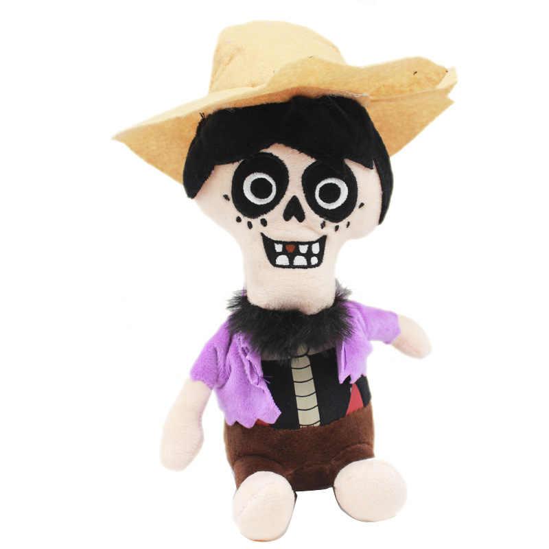 Disney фильм Pixar Coco плюшевые игрушки 20 см Miguel Hector Death Pepita Мягкие плюшевые игрушки мягкая игрушка, кукла для Дети Детские подарки