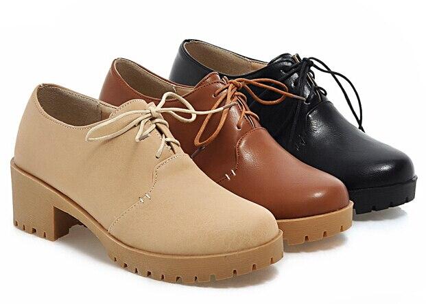 Aliexpress.com : Buy Big size 2015 Fashion Women Oxford Shoes ...