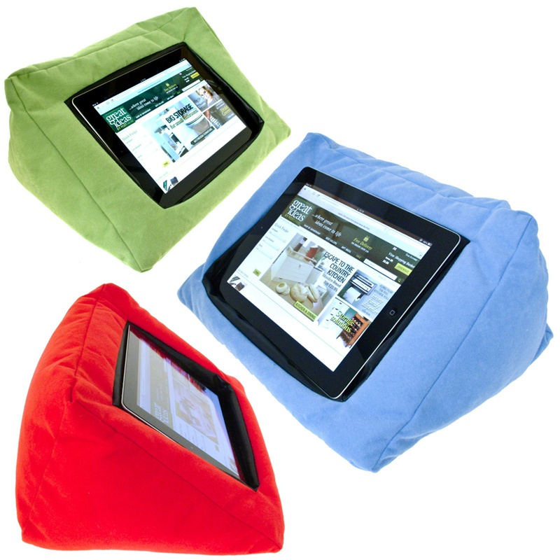Portable Tablet Pillow For iPad Stand Mount Holder Bed Soft Cushion Tablet Holder Mount Stand Fit