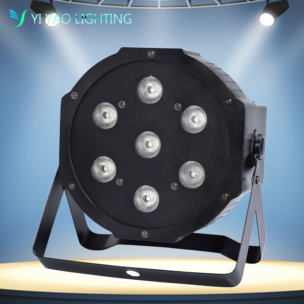 7X10W 4 In 1 RGBW LED Stage PAR Lights Effect Lighting DMX-512 Sound Actived Professional 8 Channel Party Disco Show7X10W 4 In 1 RGBW LED Stage PAR Lights Effect Lighting DMX-512 Sound Actived Professional 8 Channel Party Disco Show