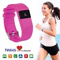 TW64s Heart Rate Monitor Smart Band Pulse Fitness Bracelet Activity Tracker Wristband for IOS Android Mobile Phone pk Fit bit