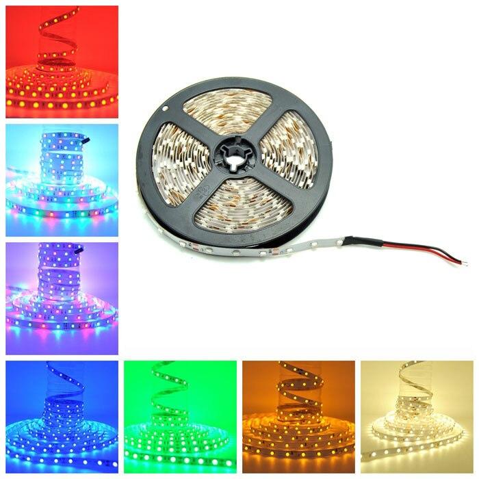 BSOD 2835 Led Strip SMD LED Flexible Strip IP33 Indoor 3528LED 60 Pcs/M Input DC12V Safe Ribbons 4.8W/Meter