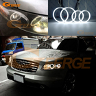 For INFINITI FX35 FX45 2003 2004 2005 2006 2007 2008 Excellent Ultra bright illumination CCFL Angel Eyes kit Halo Ring