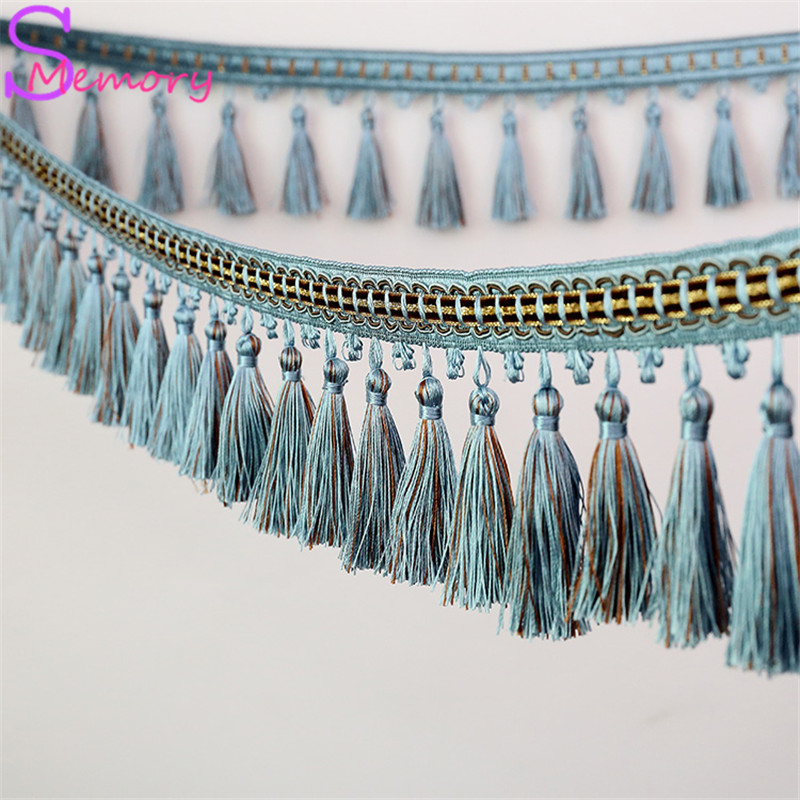 12M Europe Curtain Tassel Lace beads hanging spike Hanging Ball Tie Back Straps Holders Accessories Home