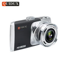 QUIDUX Full HD 1080P Car DVR Night Vision Video Camera 3 0 Inch Dashcam Novatek H