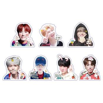 Youpop KPOP BTS Bangtan Boys ARMY Album Paper Stickers For Luggage Cup Notebook Laptop Car Fridge DIY Stickers TZ053 Ювелирное изделие