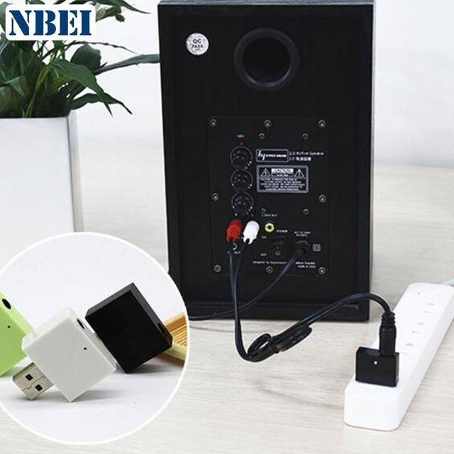 NBEI U01 Wireless Bluetooth Receiver Audio Receptor aux Adapter Stereo Music usb 3.5mm Jack amplifier reciver RCA For Speaker