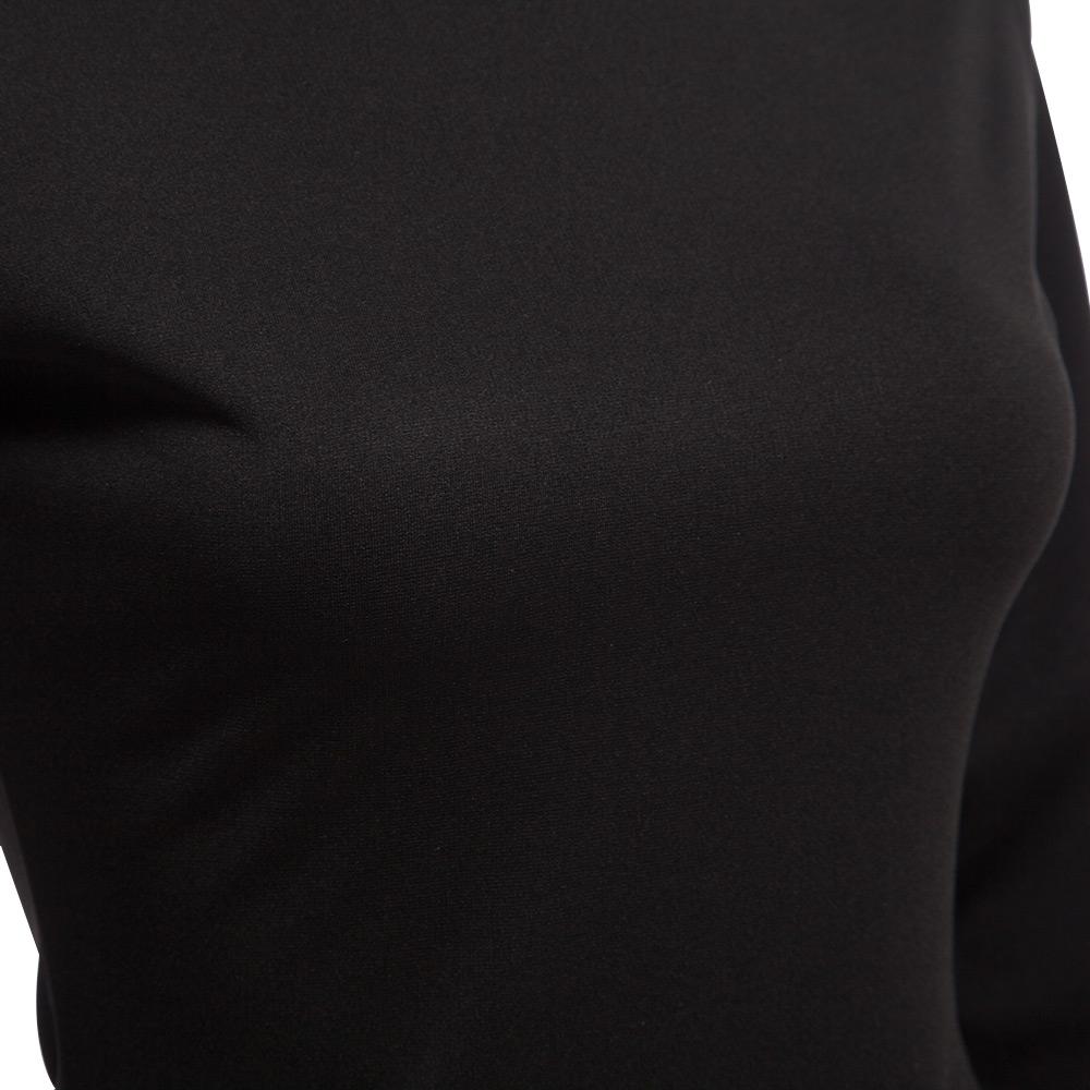 VESTLINDA Bodycon Sheath Dress Little Black Long Sleeve Party Dresses Women Back Full Zipper Robe Sexy Femme Pencil Tight Dress 4