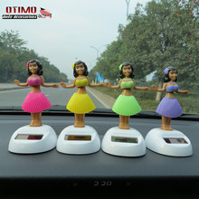 Car Styling Ornaments Miss Hawaii Sex Girl Shake Swing Rocking Ass Fanny Beautiful Lady Cute Doll Baby Interior Accessories