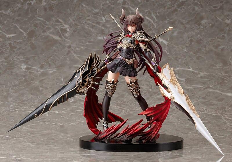 Figurine Anime 24 CM Kotobukiya Rage de Bahamut Dragon foncé cavalier Forte la figurine d'action en PVC consacrée modèle de jouet à collectionner