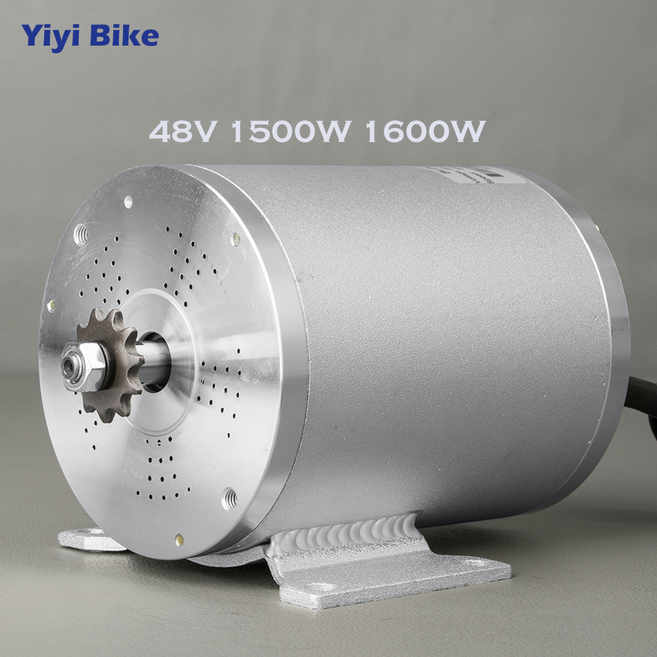 48V 1500W 1600W Electric Bicycle DC Motor Brushless Gear Motor For Electric Conversion Kit Scooter ebike Mid Drive Motor image