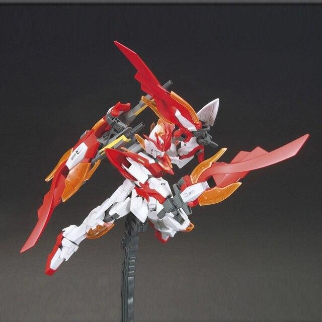 Anime Japan 1/144 Wing gundam zero Honoo Transformable model Puzzle assembled Robot hot kids toys Action Figure gunpla juguetes 3