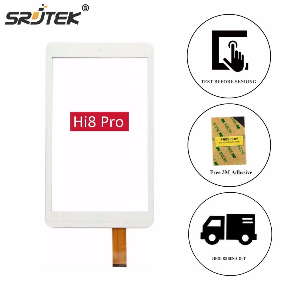 Srjtek New 8 For Chuwi hi8 Pro Tablet touch screen Panel Digitizer Sensor Replacement Free Shipping Note the picture 8 touch screen touch panel digitizer for chuwi cwi506 tablet pc free shipping