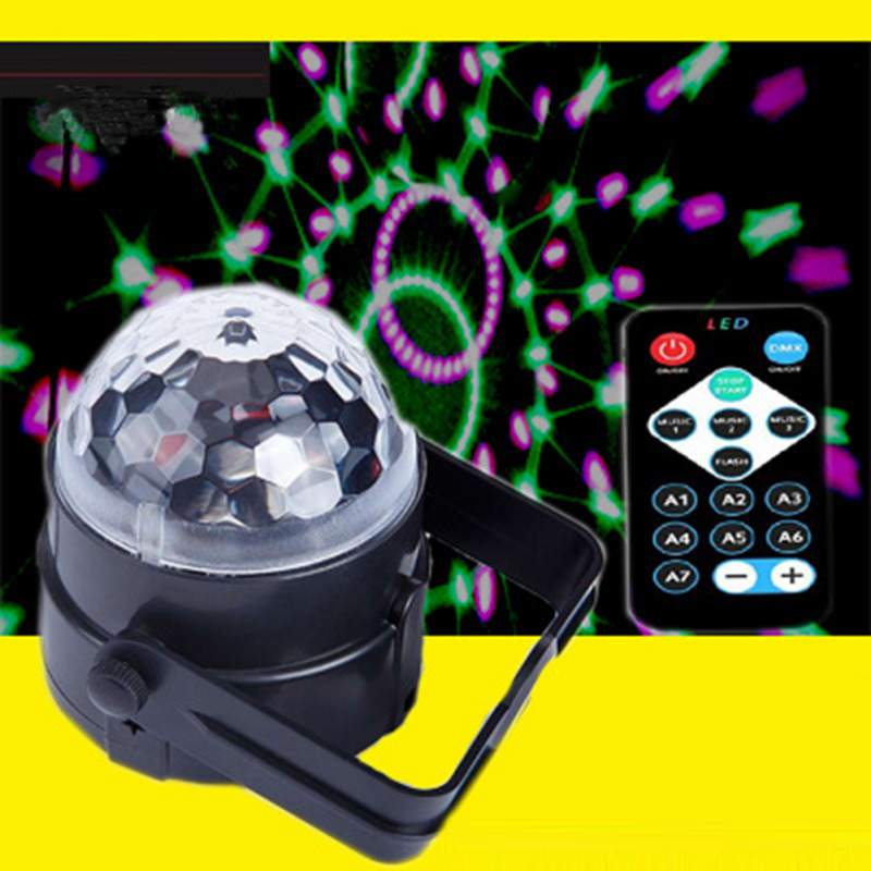 Lights & Lighting Stage Lighting Effect Creative Dropshipping Projector Christmas Light Effect Party Music Lamp Led Stage Light Disco Lights Dj Disco Ball Sound Activated Laser