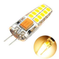 12 V 3 W лампа 20 светодиодов Bi-pin без затемнения G4 230LM теплый белый База свет