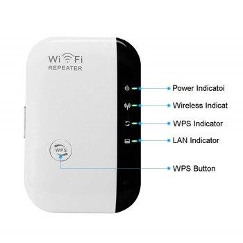 Вертикальный усилитель сигнала ретранслятора сотовый усилитель 300 Мбит/с беспроводной расширитель диапазона WiFi сетевой расширитель для мо...
