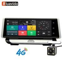 Bluavido 4G ADAS 1080 P Автомобильный dvr камера gps навигации 8,0 ips регистраторы Android регистратор Full HD видео регистраторы двойной объектив dvrs