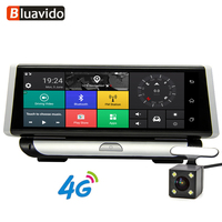 Bluavido 4G ADAS 1080P Car DVR Camera GPS Navigation 8.0 IPS Dash Cam Android Registrar Full HD Video Recorder Dual Lens dvrs