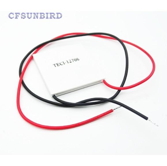 CFSUNBIRD TEC1 12706 TEC Thermoelectric Cooler Peltier tec1-12706 2x tec1 12706 91 2w tec thermoelectric cooler peltier