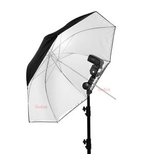 "Image 5 - Godox 33"" 84cm Double Layers Reflective and Translucent Black White Umbrella for Studio Flash Strobe Lighting"