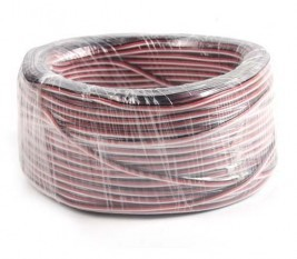 DIY Futaba /JR Color 22# 22AWG Servo Extension Cable/ Flat Cable 50M/volume Without Connector