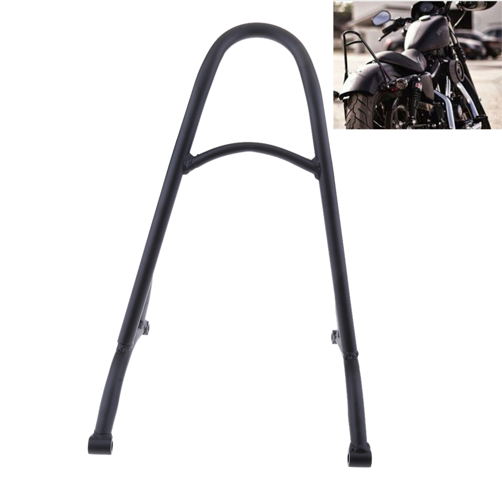 Short Weld Motorcycle Sissy Bar Backrest Fits for Harley Sportster XL Iron Nightster 883/1200 2004-2016 Bar respaldo le dossier