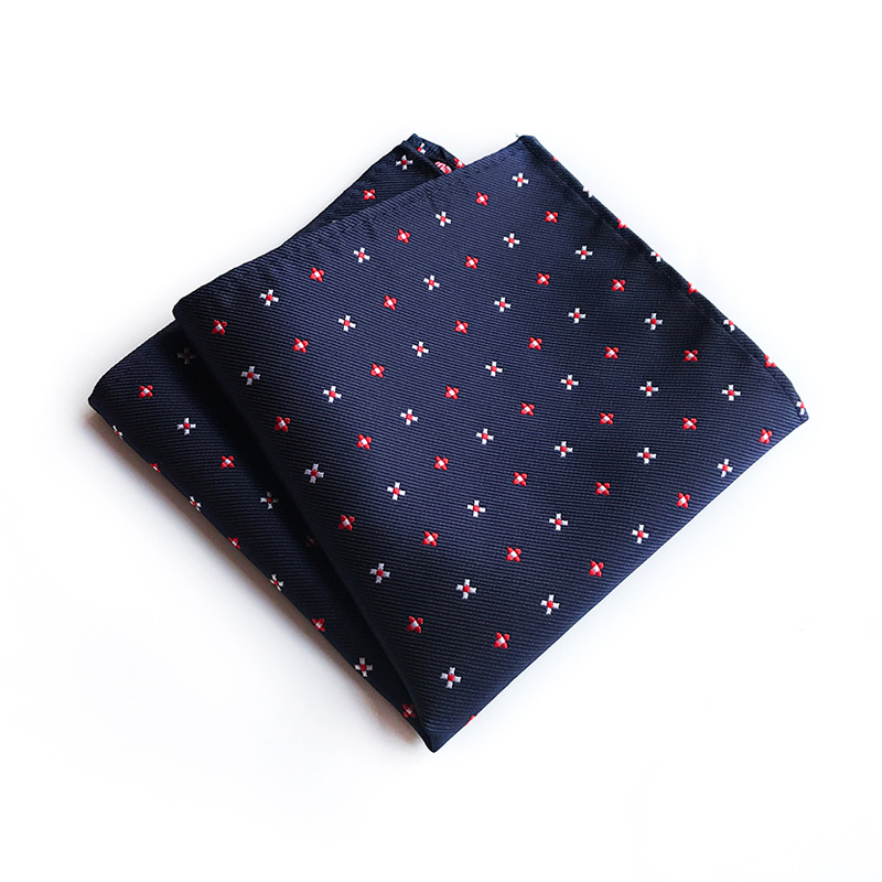 Unique Design Quality Explosion Models 25x25cm Polyester Pocket Towel Men's Business Fashion Boutique Dress Pocket Towel