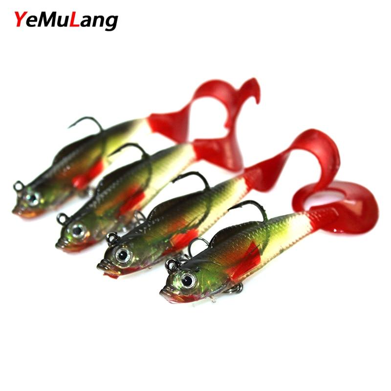 ИеМуЛанг 1пцс Свимбаит Софт - Риболов