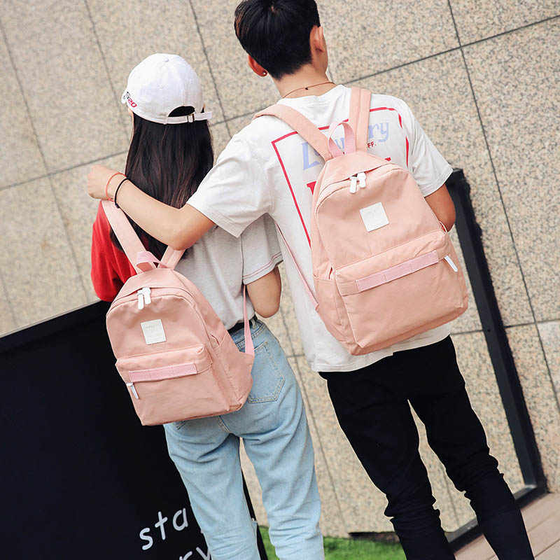 fbed320ab0f6 2018 Waterproof Women Backpack Small Preppy Style Student School Bag Fashion  Travel Female Backpack For Teenagers