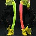 2016 New fashion Brand Sweatpants Costumes female stage performance wear Neon jazz  trousers Harem Hip Hop Dance Pants
