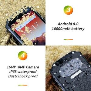 """Image 4 - OUKITEL WP2 IP68 방수 NFC 스마트 폰 6.0 """"18:9 MT6750T Octa 코어 4GB RAM 64GB ROM 10000mAh 지문 휴대 전화"""