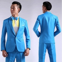 Tuxedos For Men Wedding Prom Television Clothing Costumes Photographed Suit Men Long Sleeved Men S Suits