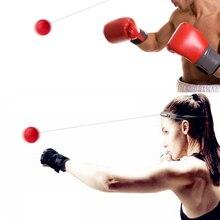 Бойцовский бокс бой скорость мяч реакционный мяч тренировка скорости рефлексов боксерский удар Муай Тай упражнения фитнес-оборудование для тренировки