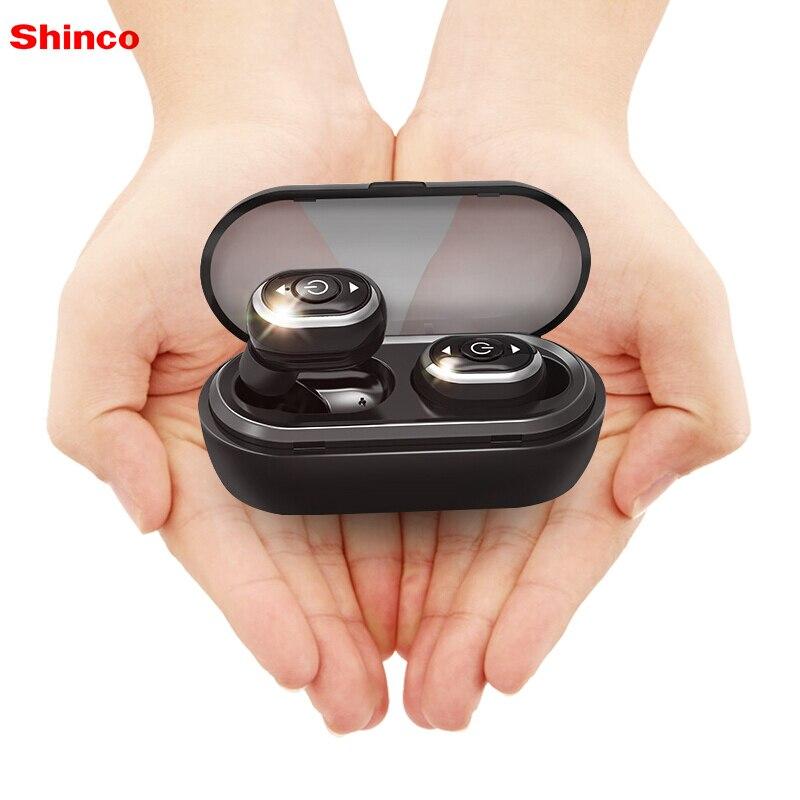Shinco S8 Mini casque sans fil bluetooth4.2 écouteurs sport écouteurs étanches pour iPhone Xiaomi fone de ouvido auriculares